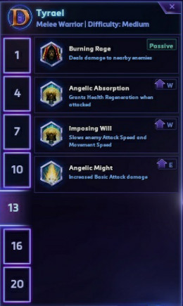 Tier 5 Talents