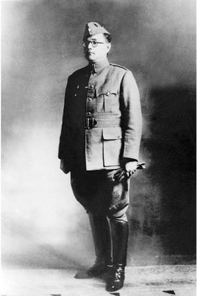 Netaji in uniform