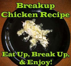Breakup Chicken Recipe May Be the Antidote to Engagement Chicken