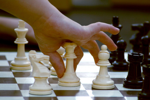 Play a game of chess, checkers, or Chinese checkers.