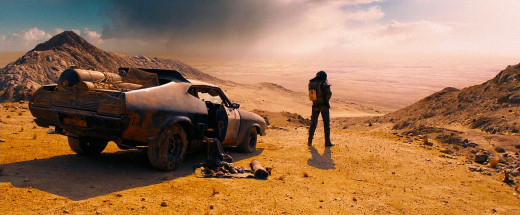 "Unlike many films in the post-apocalyptic genre, ""Mad Max"" features bright colors that pop, which serve to highlight the beauty and brutality of Max's world."