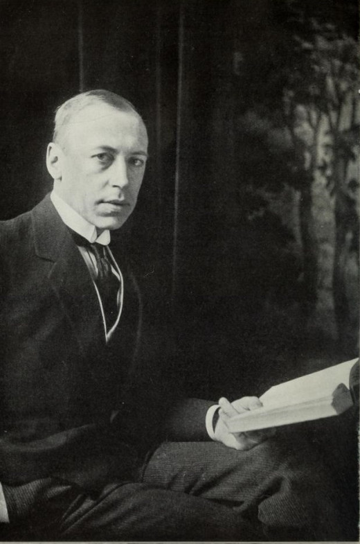 Poet Alfred Noyes, author of 'The Highwayman'