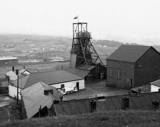 Big Pit, Blaenavon, Wales