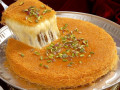Knafeh Recipes: Middle-Eastern Syrup-Soaked, Crisp Crust, Cheese Dessert