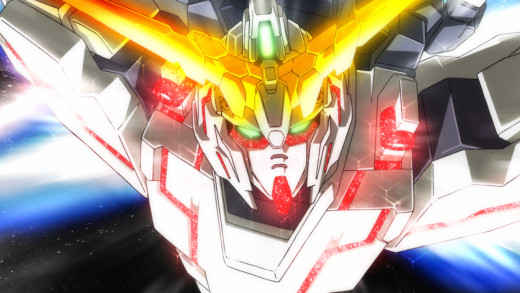 The Unicorn Gundam holds great power, generated by human consciousness.