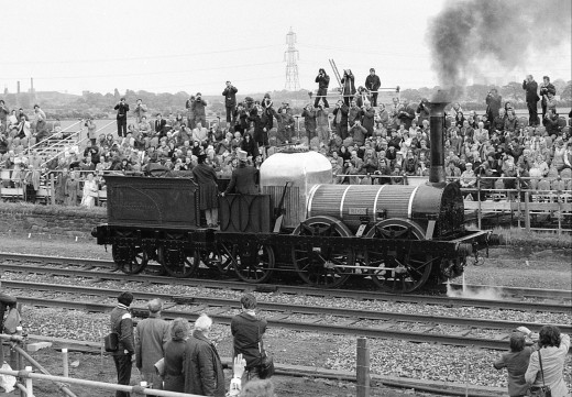 The Bury Coppernob 'Lion,' star of 'The Titfield Thunderbolt.'