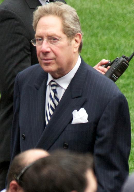 Yankees Radio Announcer John Sterling