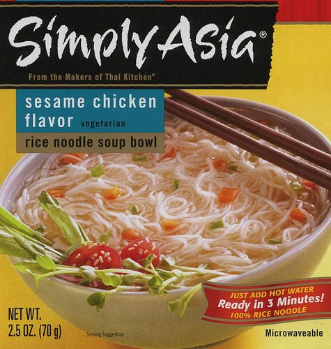 Simply Asia Rice Noodle Soup