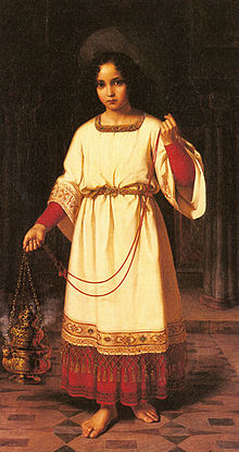 The Acolyte by Abraham Solomon 1842
