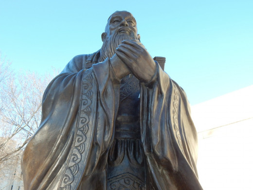 Confucius (551-479BC) provided China with a moral code. His teachings of the  five virtues and five relationships are central to Chinese culture.and Philosophy.