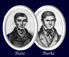 Messrs Burke and Hare at the time of their trial