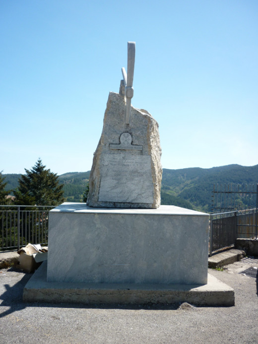 San Giovanni in Fiore - Monument to the Monongah Mining disaster (in 1907).