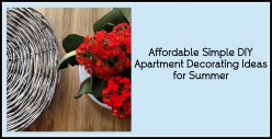 Affordable Simple DIY Apartment Decorating Ideas for Summer