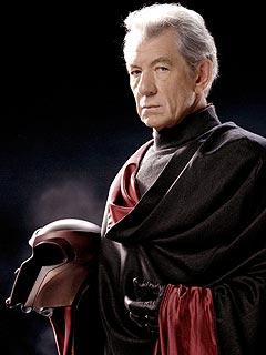 Magneto portrayed by Ian McKellen