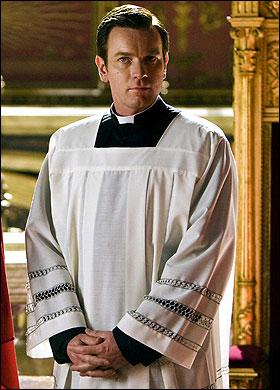 Camerlengo Patrick McKenna portrayed by Ewan McGregor