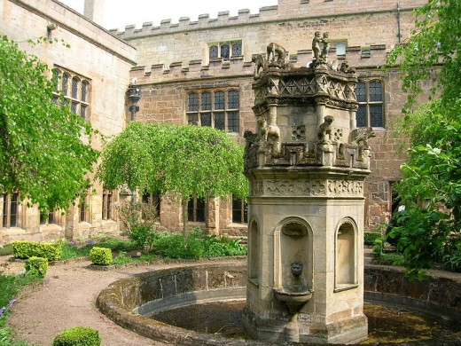 Romantic and beautiful Newstead Abbey - home to many odd things and ghosts.
