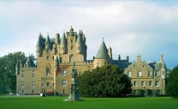 Mystical, mysterious, beautiful and haunted - this is Glamis  Castle.