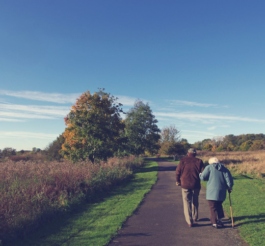 Activities such as walking can promote more longevity.