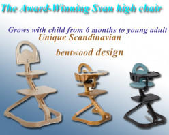 Top Wooden High Chairs: Svan Signet Adjustable High Chairs for Kids