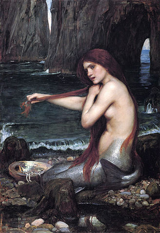 William Waterhouse, 'A Mermaid'