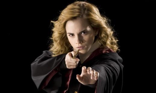 Hermione Granger portrayed by Emma Watson