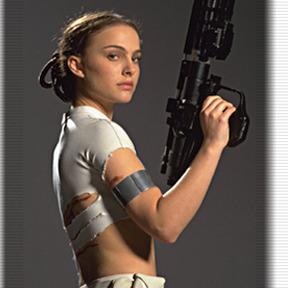 Padme Amidala portrayed by Natalie Portman