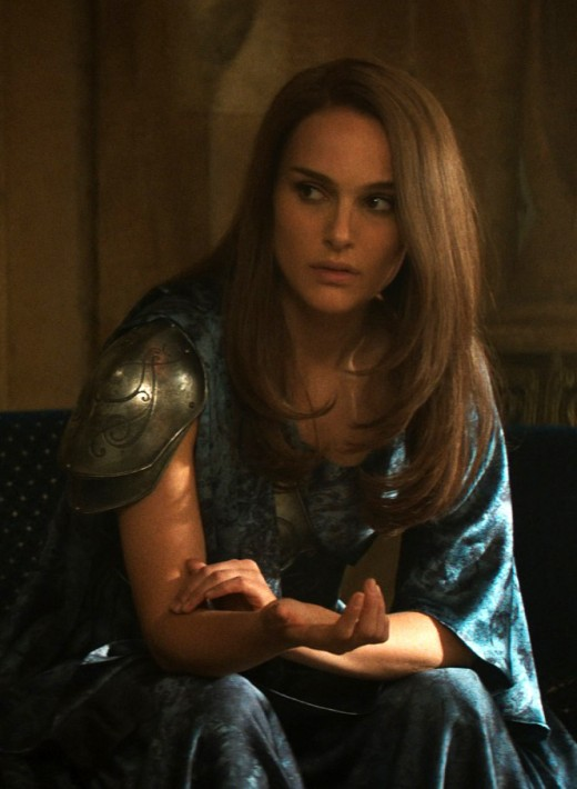 Jane Foster portrayed by Natalie Portman