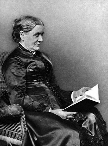 American poet Lucy Larcom