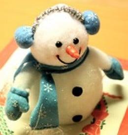 Adorable snowman