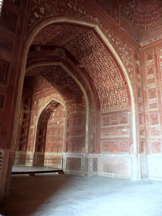 One OF The Gateways To The Taj Mahal