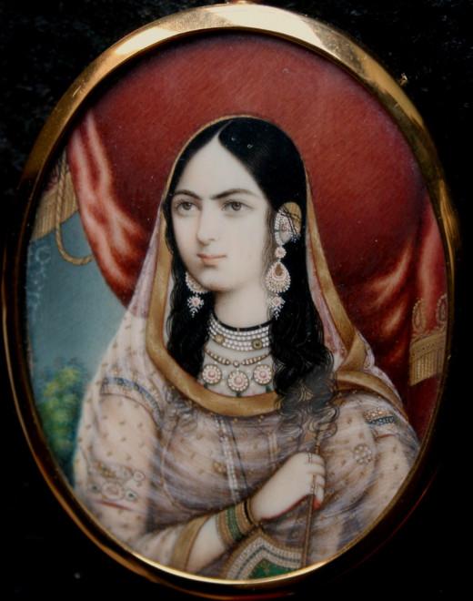 Posthumous Portrait Of Mumtaz Mahal
