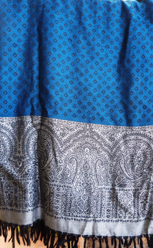 Super-Soft Pasmina Shawl From UP Handicrfat Development Centre, Agra