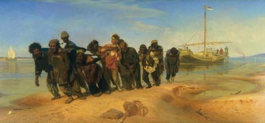 Ilya Repin, The Volga Boatmen
