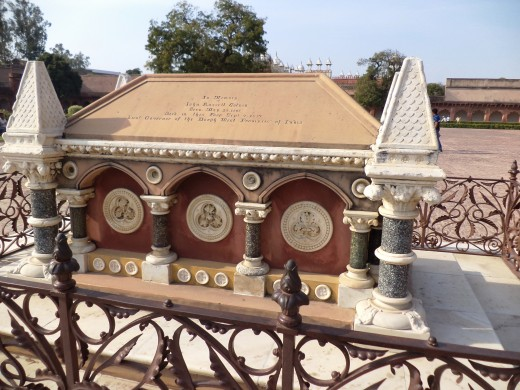 Tomb Of John Russel Colvin, Red Fort, Agra