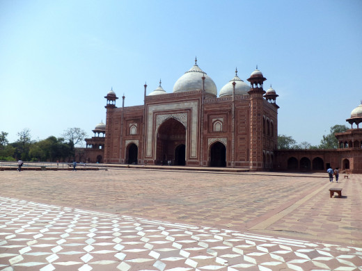 Gateway To The Taj Mahal, Agra