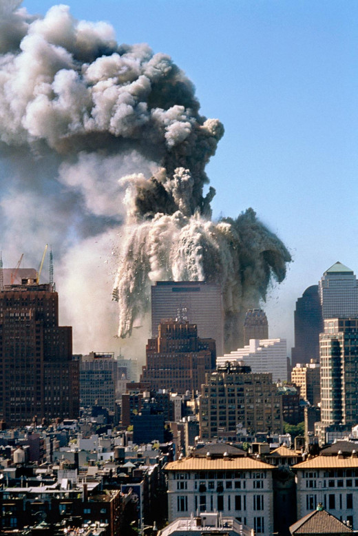 World Trade Center Collapsing