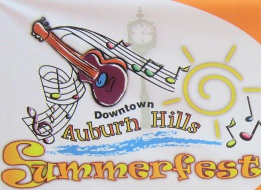 "Downtown Auburn Hills Summerfest 2015 - ""#ThrillsInAuburnHills""!"