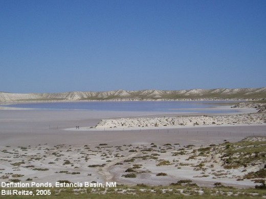 The salty remains of ancient Lake Estancia