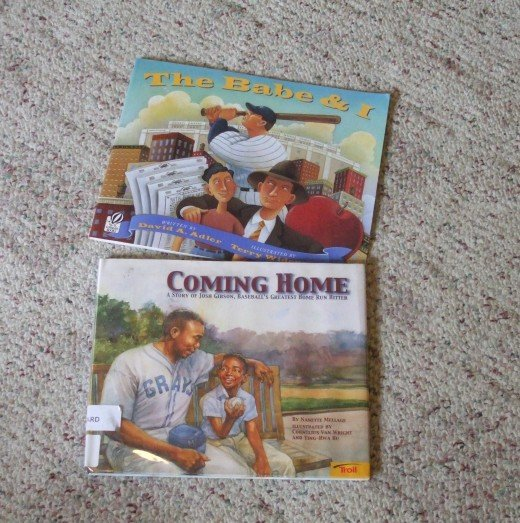 Baseball stories for children.