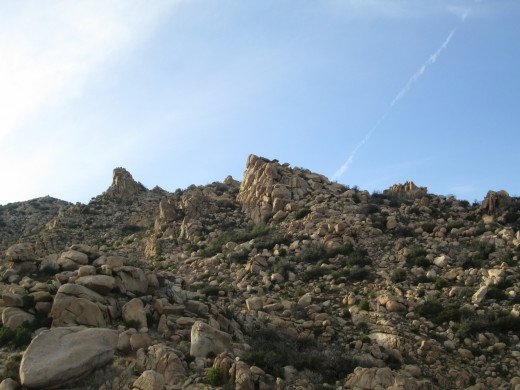 Hiking at the Pinnacles up in the San Bernardino Mountains.