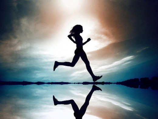 Running is a good way to keep fit