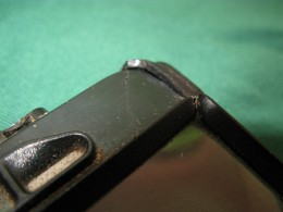 Crack in OtterBox iPhone case