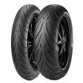 Motorcycle track day tire choice.