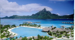 My dream Vacation Spot - Bora Bora Islands