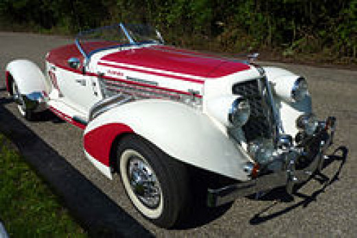 1935 Auburn 851 Speedster