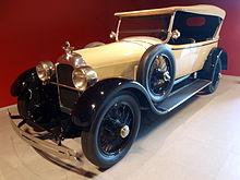 1923 Duesenberg Model A Touring car