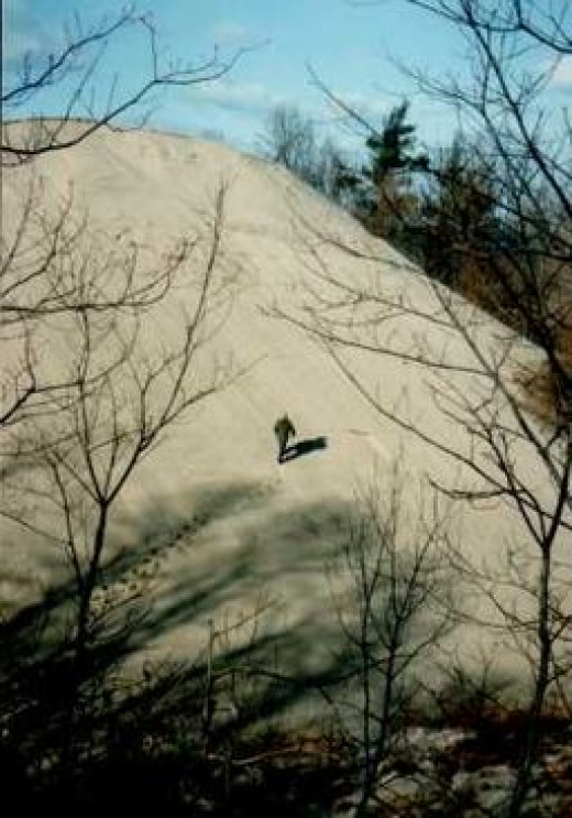 Mount Baldy sand dune
