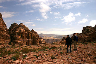 The Ruins of Roman City, Petra