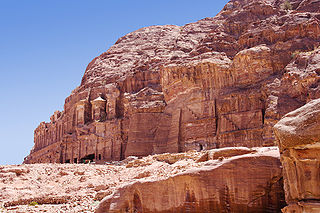 Tombs of Kings in Petra