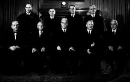 1966 United States Supreme Court Justices